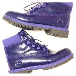 Timberland Premium Waterproof Purple Shine Boot